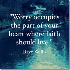 worry occupies